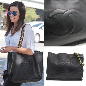 💎✨EVA LONGORIA✨💎 Chanel tote black